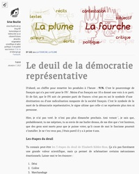 Le deuil de la démocratie représentative