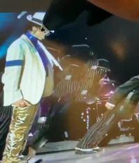 The king of pop à la pointe du stylet