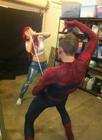 Spider-Pan dans l'oeil.