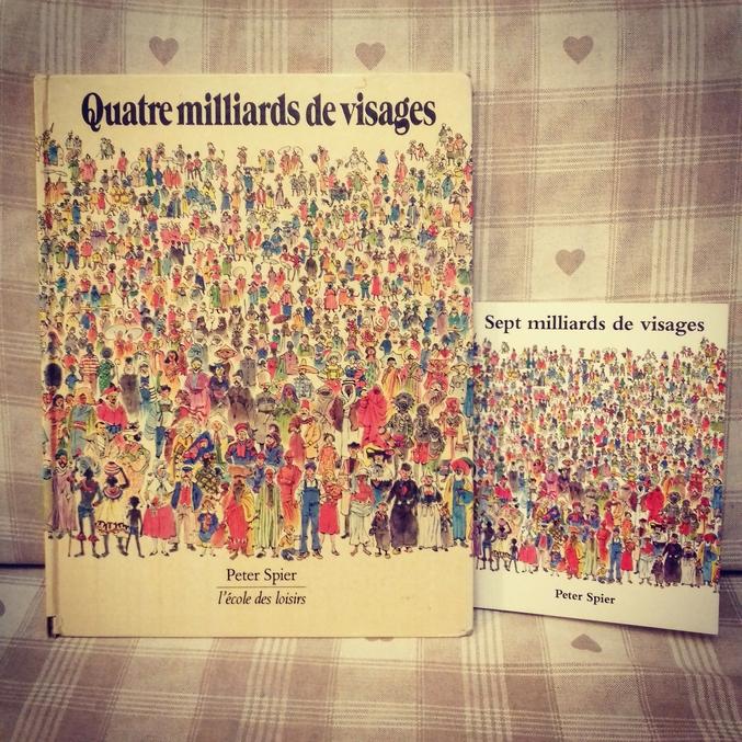 35 ans séparent ces 2 éditions... la première date de 1981,l autre de juin 2016.