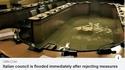 La salle du Conseil Municipal de Venise...