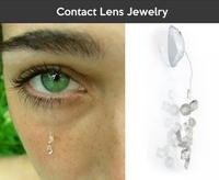 Kan la lentille de contact devient complément de parure en bijouterie