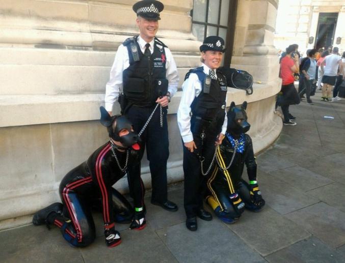 La police britannique a trouvé une solution.