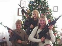 Ah les beaux cadeaux de Noël pour les petits-n'enfants de l'oncle Sam !