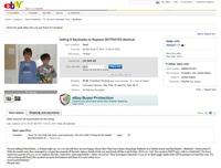 Ebay + Parents pas contents.