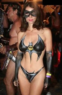 Batwoman bodypaint