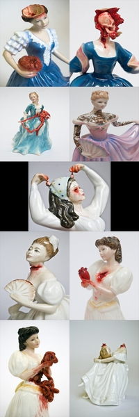 Figurines en porcelaine