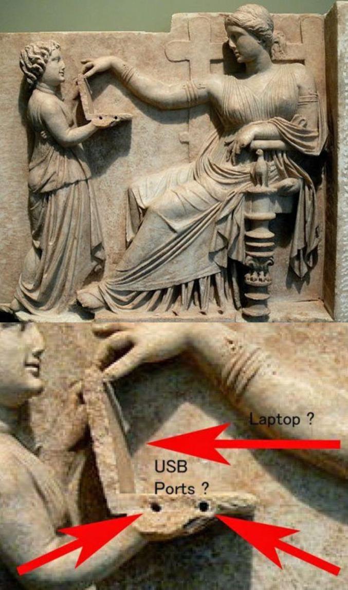Les portables existaient déjà à l'époque !