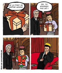 L'anniversaire de Robin