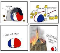 Pendant ce temps, en France...