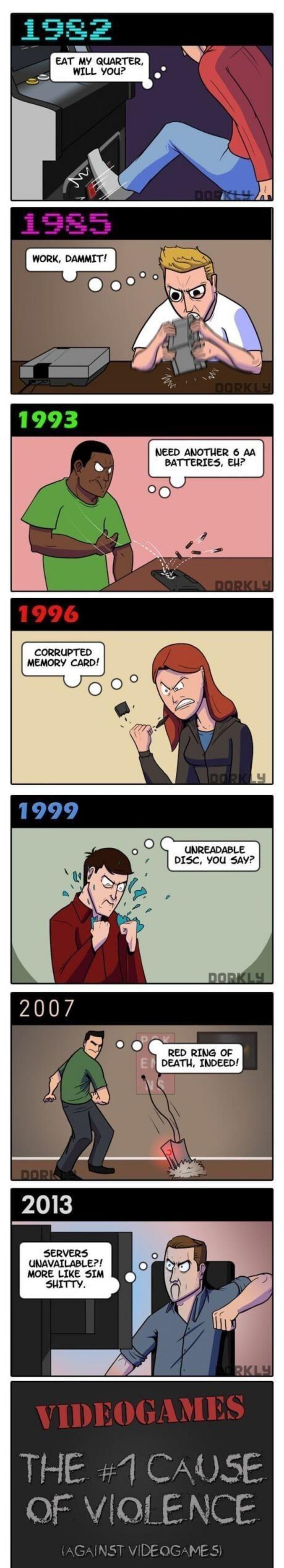 À travers les âges.