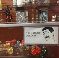 Seulement pour le tabac