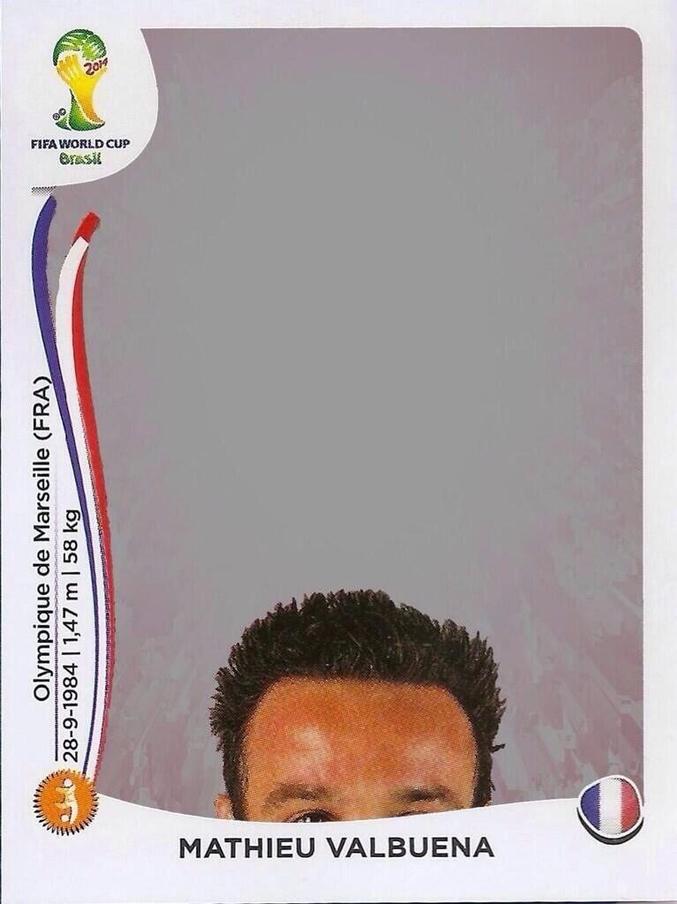 Premier Panini officiel pour la coupe du monde 2014