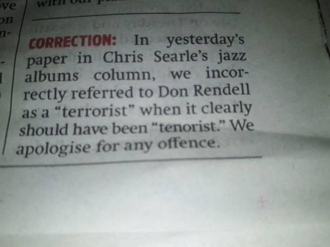tenorist is terrorist
