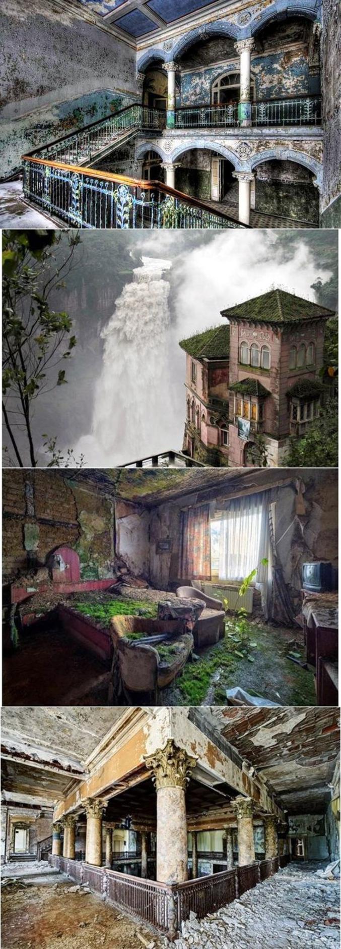 D'abord belle demeure de riches colombiens, puis hôtel de luxe, puis locaux abandonnés quelques années seulement, aujourd'hui musée...