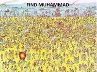Ici, il ne faut chercher ni Charlie, ni Waldo, mais Mohamed...