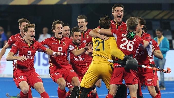 Une médaille d'or historique pour le hockey belge, qui jouait sa première finale en Coupe du monde.