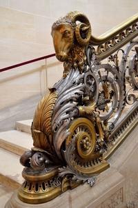 Rampe du château de Chantilly