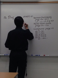 Professeur de lettres in