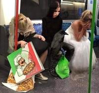 Voyageuses du métro