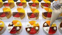 Gâteaux aux 6 saveurs