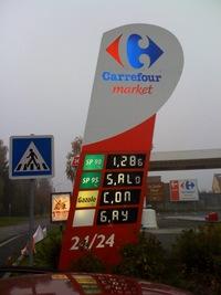Hack de pompe à essence