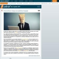 Emmanuel Macron s'attaque une nouvelle fois à l'anonymat