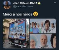 En fin de compte, les héros sont toujours les memes...