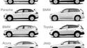 Les concepteurs-stylistes d'automobiles ne se cassent pas trop la nénette de nos jours...