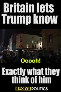 Même les britanniques brocardent Trump...