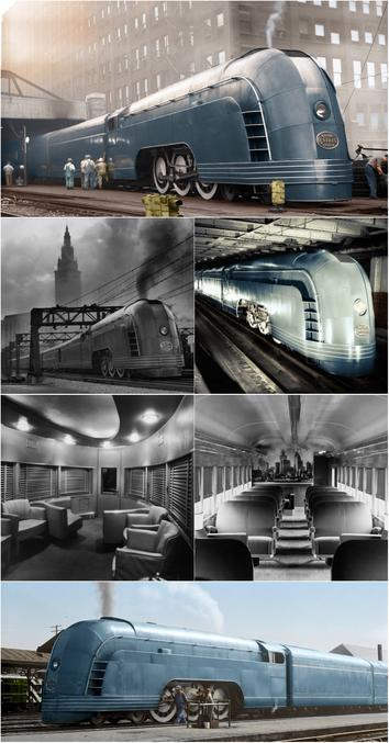 Le Mercury était un train de la New York Central Railroad qui reliait plusieurs villes du Midwest (Chicago, Detroit, Cleveland, Cincinnati), entre 1936 et 1959. Il appartient à la gamme des streamliners, conçus pour être les plus aérodynamiques possibles. Son style Art déco en fait un des trains les plus beaux et les plus emblématiques de l'histoire du chemin de fer.