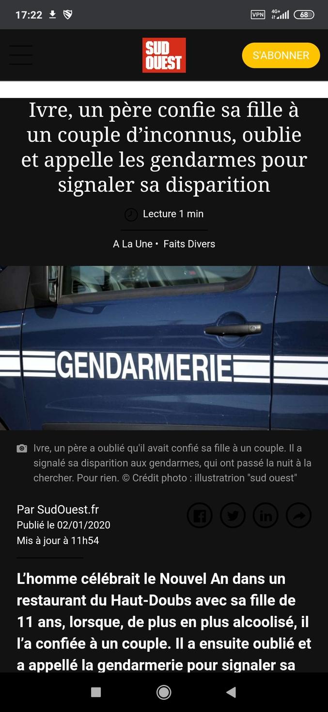 https://www.sudouest.fr/2020/01/02/ivre-un-pere-confie-sa-fille-a-un-couple-d-inconnus-oublie-puis-appelle-les-gendarmes-pour-la-retrouver-7015166-7.php