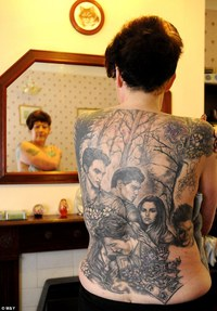 Tatouage affreux