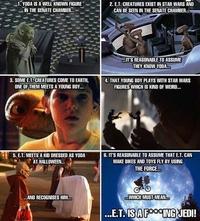La vérité sur E.T.