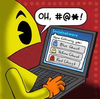 Pacman sur facebook
