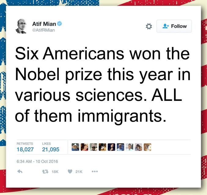 ...TOUS sont issus de l'immigration !