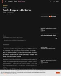 Points de repères - La bataille de Dunkerque