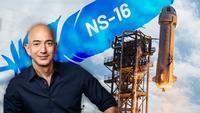 En direct : Blue Origin organise son premier vol spatial habité. Le fondateur d'Amazon, Jeff Bezos, fait partie de l'aventure.