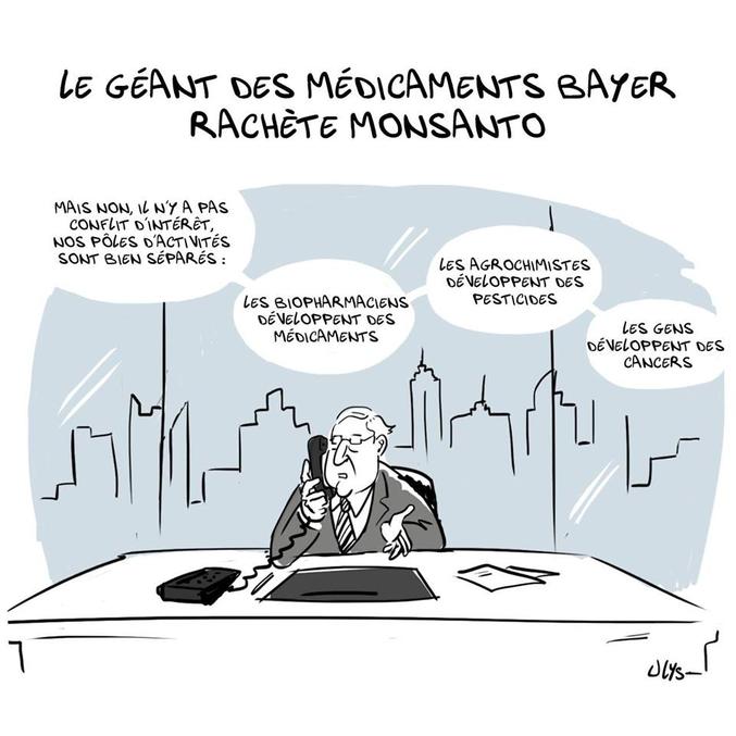 Bayer finalise le rachat de Monsanto pour 63 milliards de dollars ce jeudi 7 juin