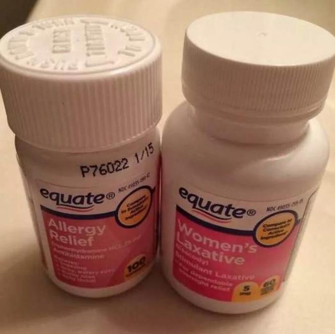 À votre gauche : un antiallergique. À votre droite : un laxatif féminin. Il y a donc une différence entre les hommes et les femmes côté laxatif ?