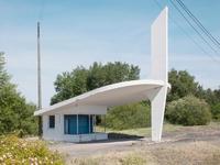 Triste : une station-service des années 50/60 abandonnée