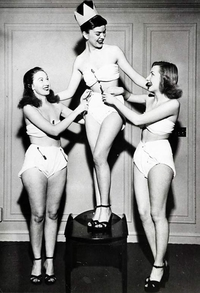 Miss couche culotte 1947