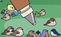 Crayon à zozio
