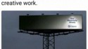 Une publicité bien pensée