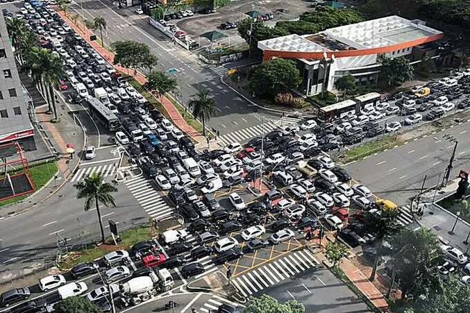 ... et que c'est pas si mal. (Sao Paulo, Brésil.)