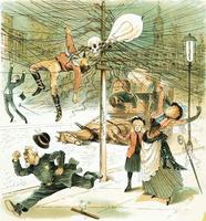 Image anti-électricité vers 1900