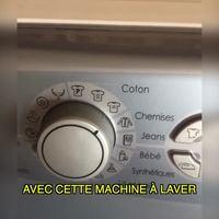 Programme spécial de la machine à laver