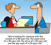Un entretien d'embauche classique