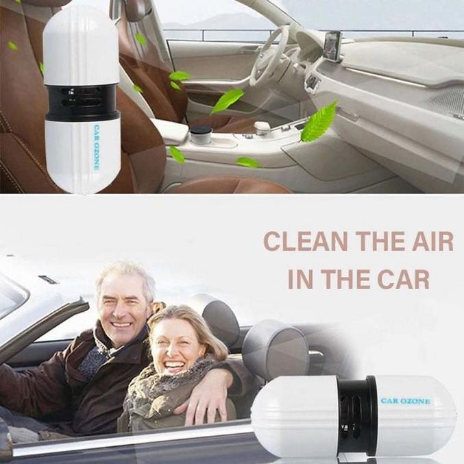 Pour nettoyer l'air de votre décapotable à la con.