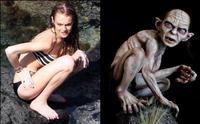 Lindsay Lohan vs Gollum